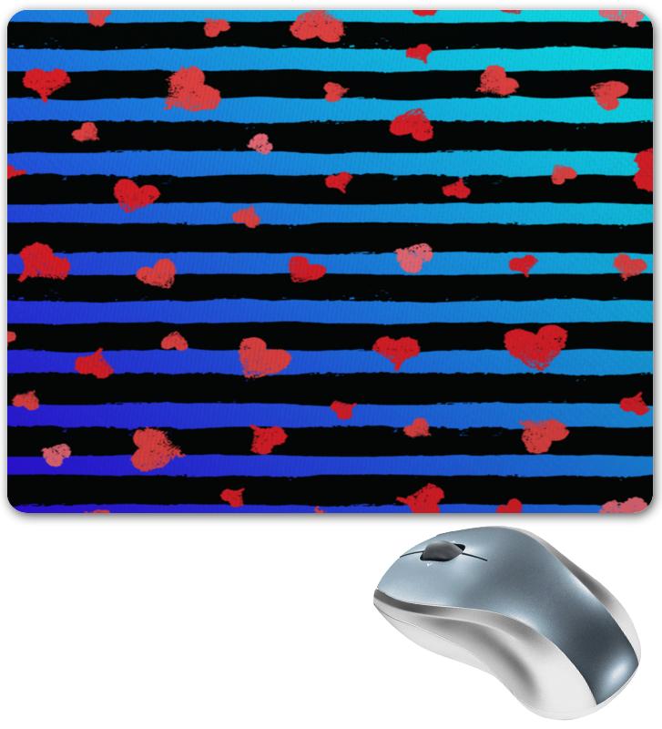 Коврик для мышки Printio Узор сердечек леггинсы printio узор сердечек