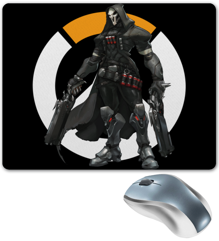 Коврик для мышки Printio Overwatch reaper / жнец овервотч reaper man