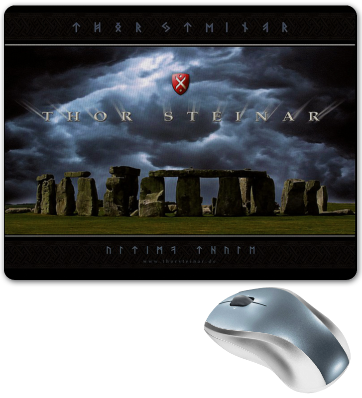 Коврик для мышки Printio Thor steinar brand коврик для мышки круглый printio thor steinar brand