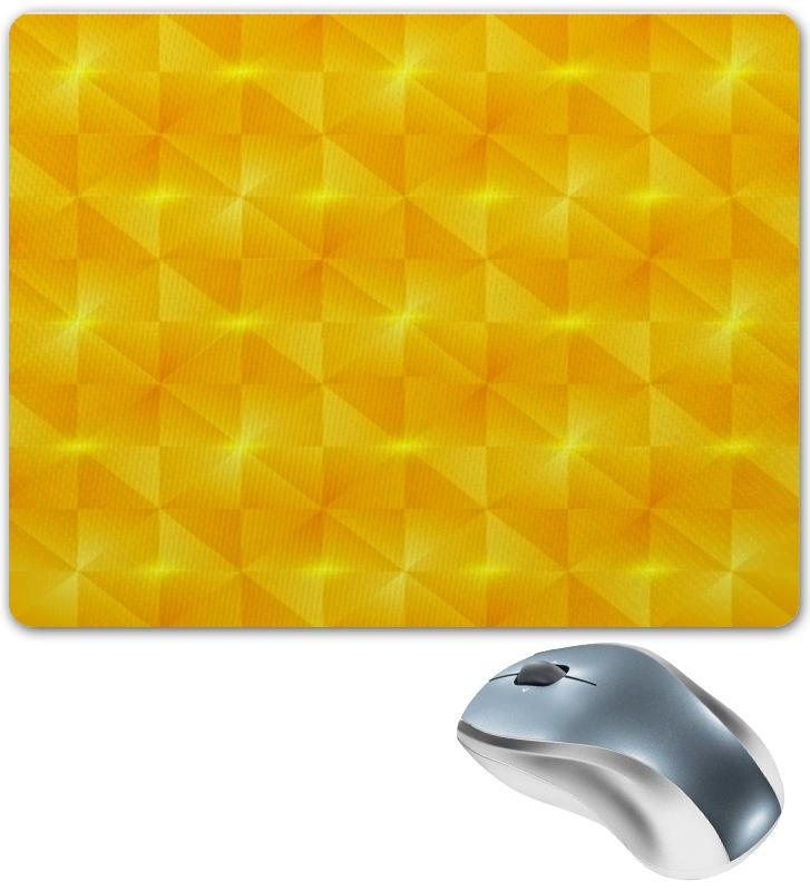 Коврик для мышки Printio Желтые квадраты