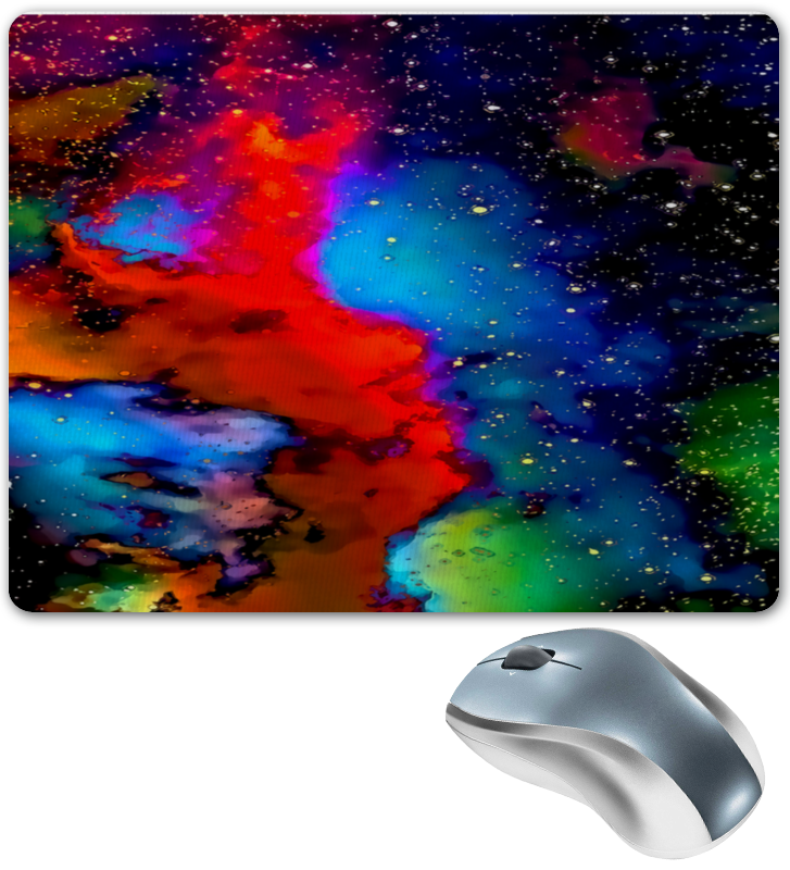 Коврик для мышки Printio Краски космоса коврик для мышки printio небо космоса