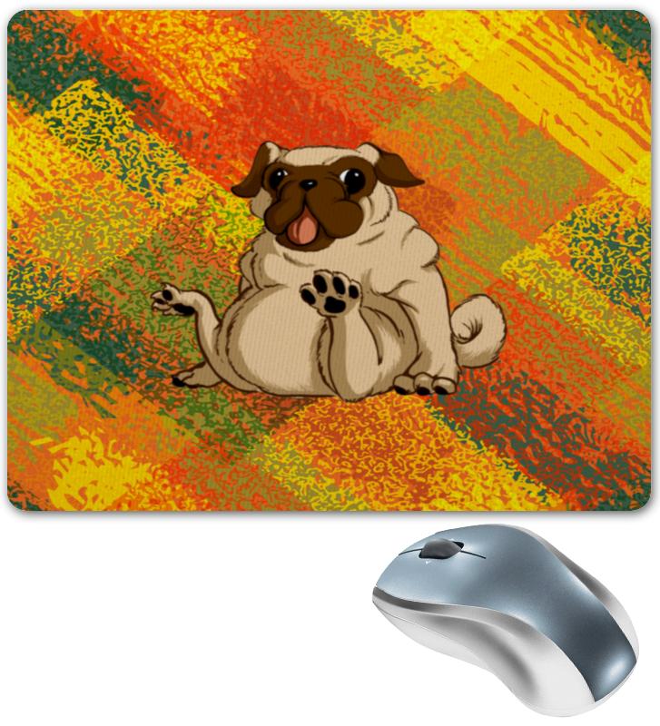 Коврик для мышки Printio Смешной мопс коврик для мышки круглый printio смешной мопс