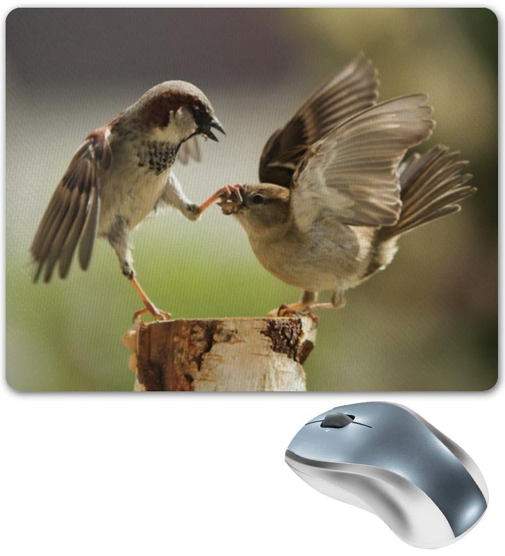 Коврик для мышки Printio Забавные птички