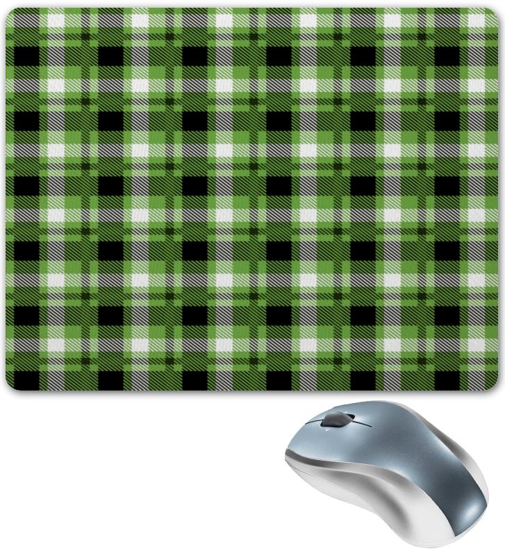 Коврик для мышки Printio Зеленая клетка