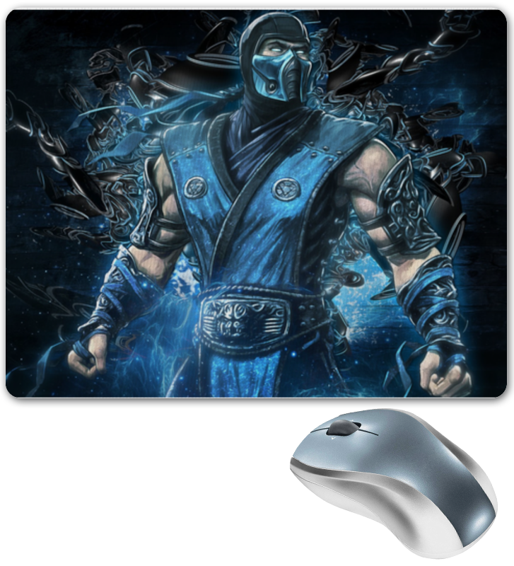 Коврик для мышки Printio Mortal kombat mortal heart