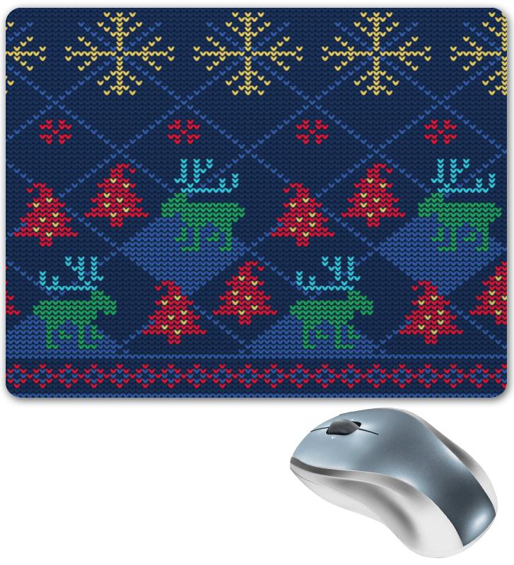 Коврик для мышки Printio Олени и елки коврик для мышки printio снежные елки