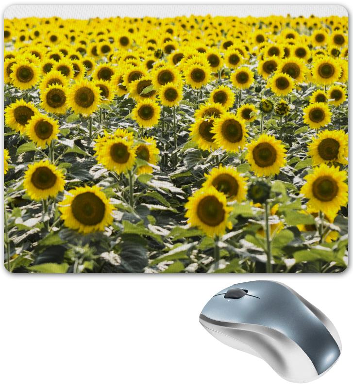 Коврик для мышки Printio Поле подсолнухов puzzle 1000 поле подсолнухов кб1000 6897