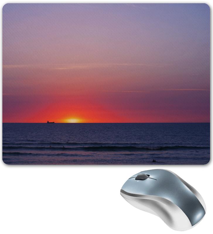 Коврик для мышки Printio Закат у моря фотошторы сирень закат у моря