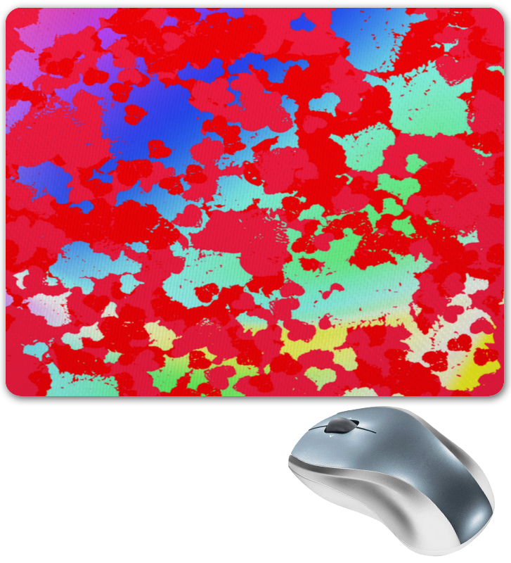 Коврик для мышки Printio Брызги красок коврик для мышки printio битва красок