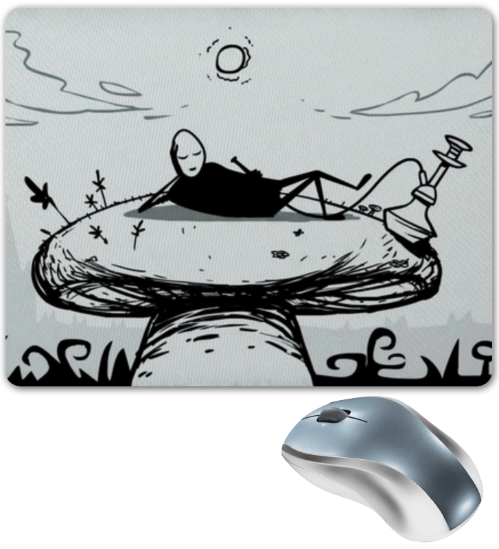 Коврик для мышки Printio Mr. freeman r austin freeman punane pöidlajälg page 10