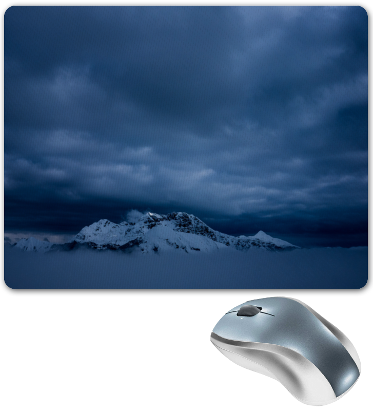 Коврик для мышки Printio Горный пейзаж