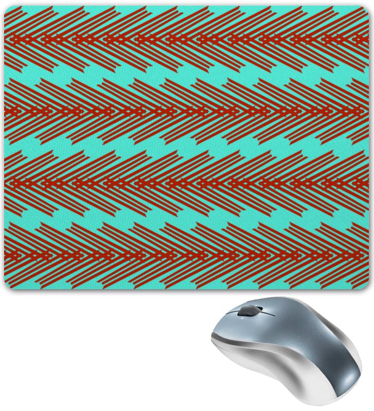 Коврик для мышки Printio Красные линии коврик для мышки printio красные лепестки