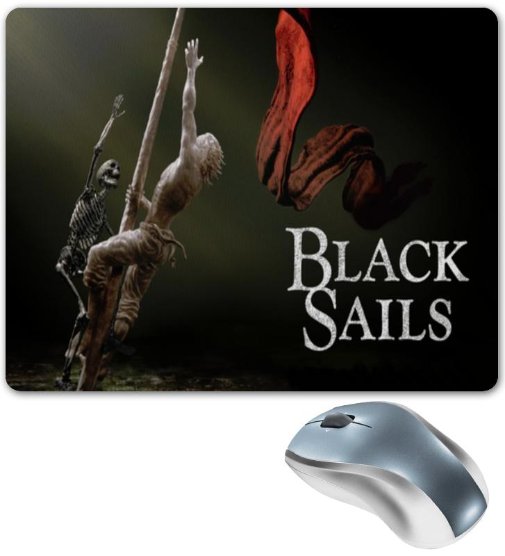 Коврик для мышки Printio Черные паруса / black sails ремень dc full sails black