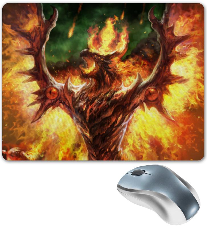 Коврик для мышки Printio Огненный дракон несбит э огненный дракон