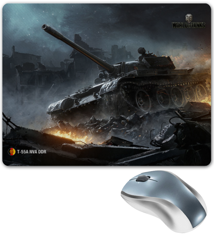 Коврик для мышки Printio World of tanks t-55a traktor siku