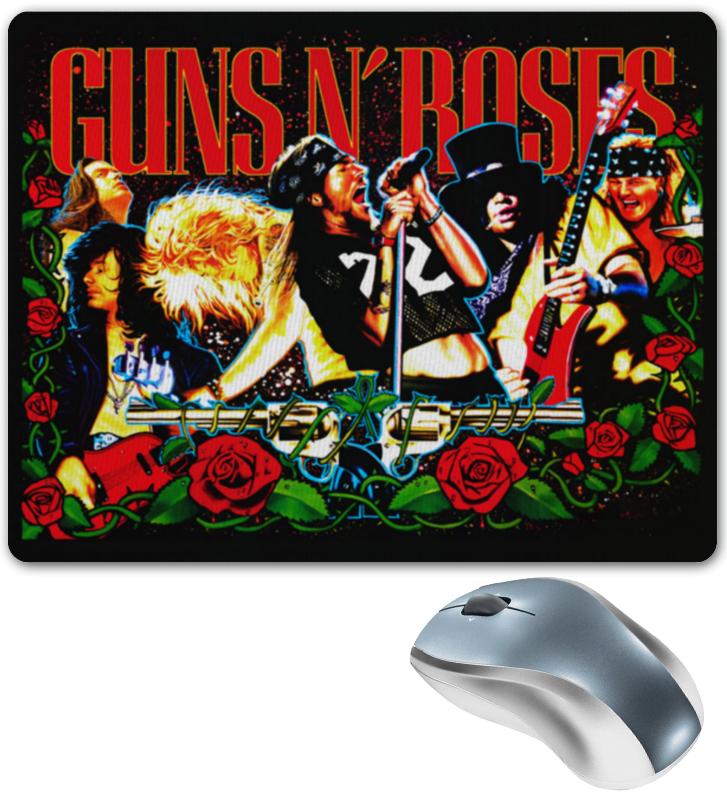 Коврик для мышки Printio Guns n' roses d203 starter 2 guns tattoo complete kit