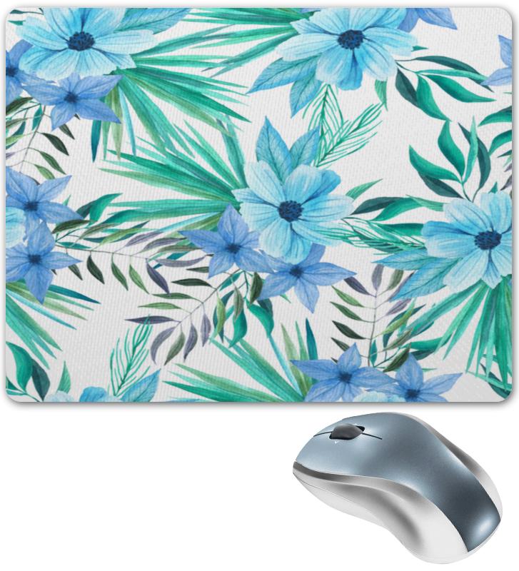 Коврик для мышки Printio Синие цветы флексика коврик пазл цветы
