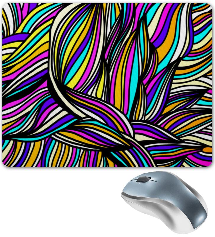 Printio Яркие полосы коврик для мышки printio полосы красок
