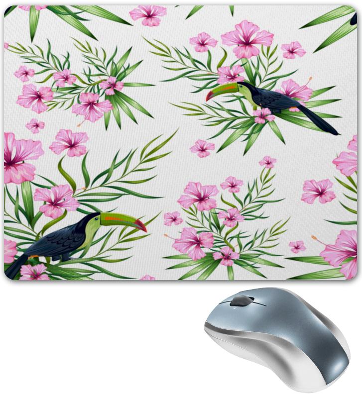 Коврик для мышки Printio Птицы и цветы платье без рукавов print bar цветы и птицы
