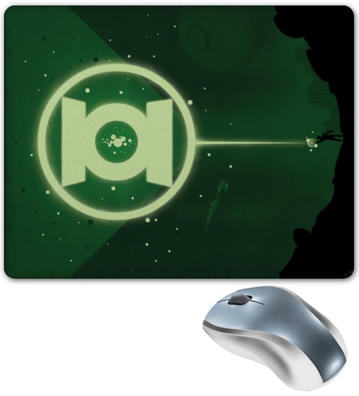 Коврик для мышки Printio Green lantern/зеленый фонарь цена и фото