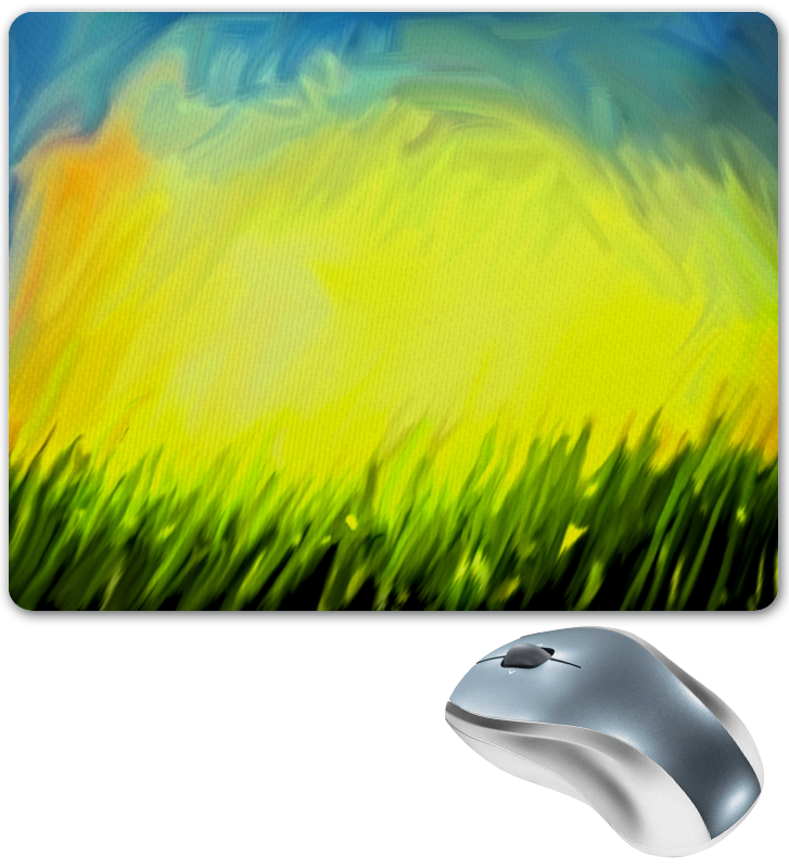 Коврик для мышки Printio Краски лета цена