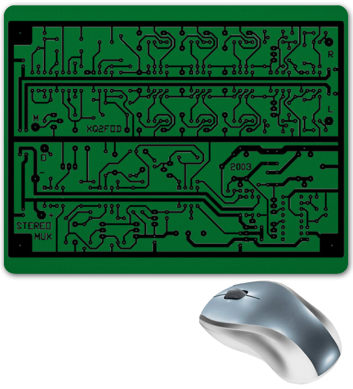 Коврик для мышки Printio Электроника