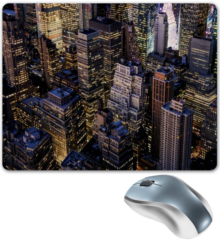 Коврик для мышки Printio Здания города для дня города