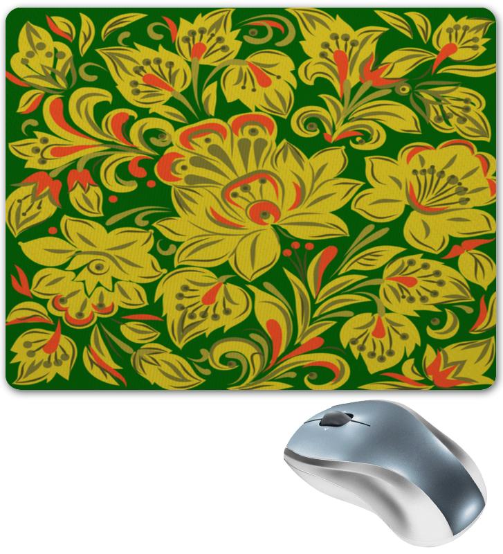 Коврик для мышки Printio Расписные цветы коврик для мышки printio цветы мака