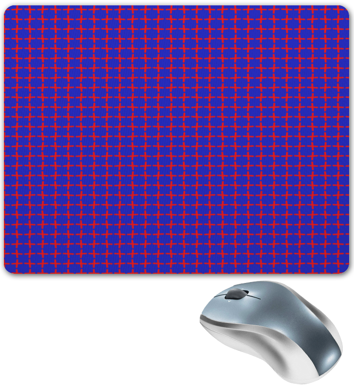 Коврик для мышки Printio Крестики крестики коюз топаз крестики т13096149