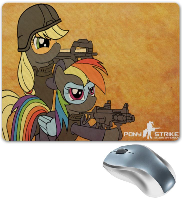 Printio Pony strike коврик для мышки printio counter strike