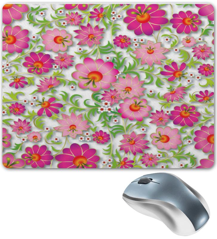 Коврик для мышки Printio Розовые цветы