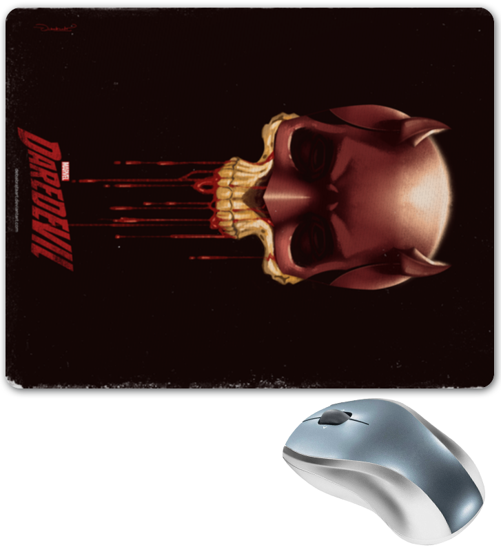 Коврик для мышки Printio Daredevil / сорвиголова daredevil volume 1