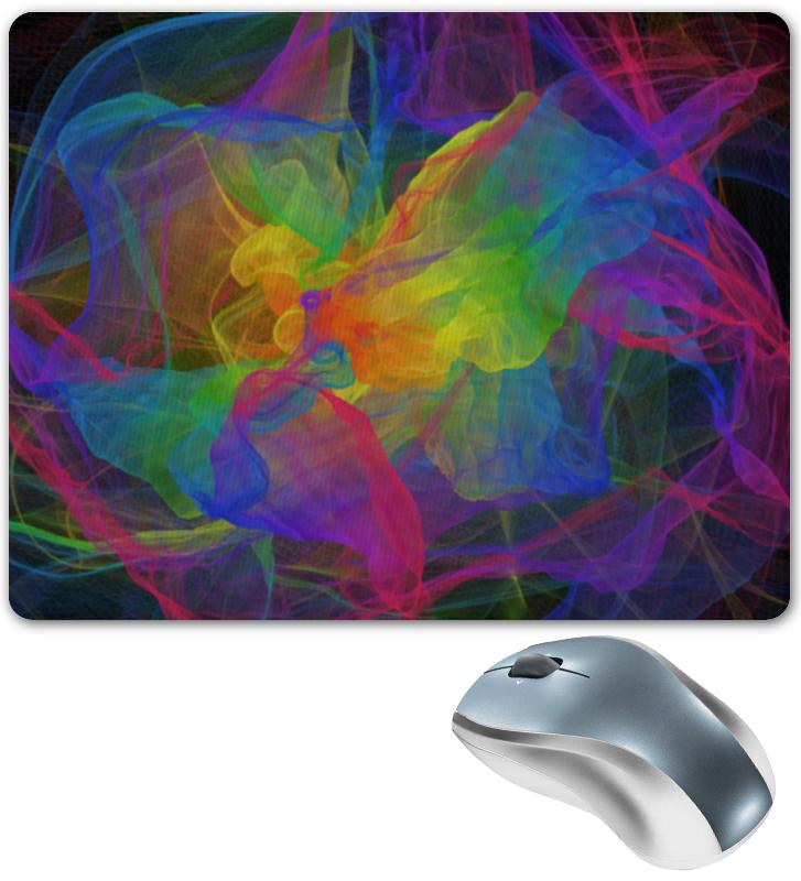 Коврик для мышки Printio Абстрактная радуга цена