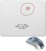 "Коврик для мышки ""CD или титя"" - диск, грудь, cd, не царапать"