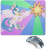 "Коврик для мышки ""Princess Celestia Color Line"" - magic, celestia, friendship, princess"