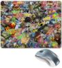 "Коврик для мышки ""Stickers CS:GO"" - cs, go, counter-strike, stickers"