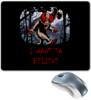 """Коврик для мышки """"Клоун - i want to believe"""" - хэллоуин, клоун, i want to believe, clown, оно"""