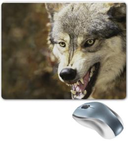 "Коврик для мышки ""Волчий"""