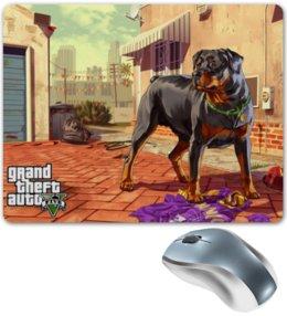 """Коврик для мышки """"GTA 5"""" - игры, gta"""