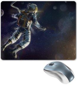"""Коврик для мышки """"Космос"""" - космос, фантастика, астронавт"""