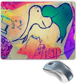 """Коврик для мышки """"Дельфинарий. Довольные"""" - арт, смешные, рисунок, прикольные, оригинально, коврик, креативно"""