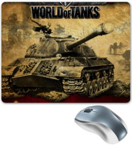 """Коврик для мышки """"World of tanks"""" - world of tanks, танки, wot, tanks"""
