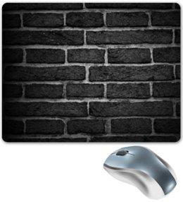 """Коврик для мышки """"Кирпичный"""" - узор, рисунок, стена, камень, кирпич"""