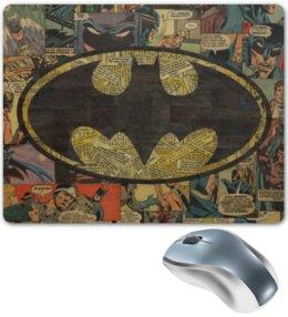 "Коврик для мышки ""Бэтмен"" - комиксы, batman, dc, dc comics, бэтс"