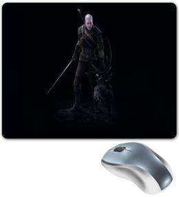 """Коврик для мышки """"Witcher"""" - игры, монстр, ведьмак, witcher, компьютерные"""
