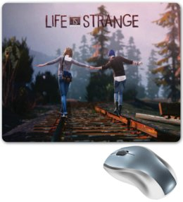 "Коврик для мышки ""Life is Strange"" - игры, life is strange"