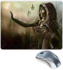 """Коврик для мышки """"Art Mass Effect Tali"""" - арт, рисунок, креативно"""