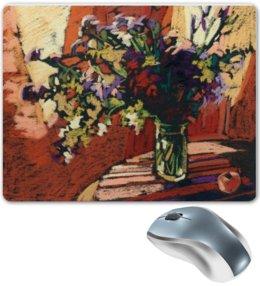 """Коврик для мышки """"Солнечный день."""" - красиво, цветы, солнце, натюрморт, коврики для мыши"""