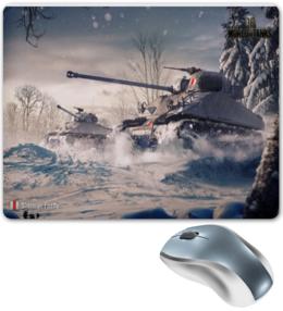 "Коврик для мышки ""Sherman Firefly   world of tanks     "" - world of tanks, танк, танки, wot, вот"