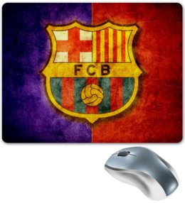 "Коврик для мышки ""Barcelona"" - barcelona, barca"